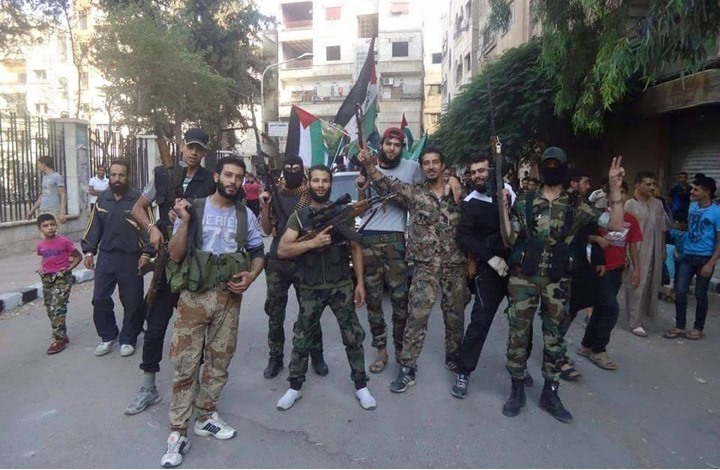 حين رفضوا اليرموك المقاتل