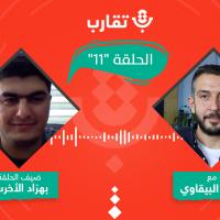 بودكاست تقارب | الحلقة #11 | الصحة النفسية في غزة مع بهزاد الأخرس